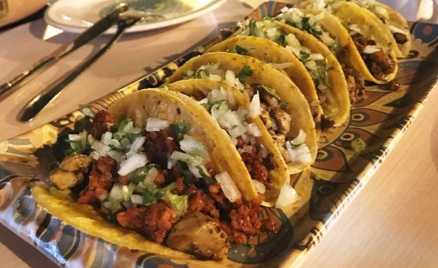 Tacos Pastor de la Tortería Mexicana Barcelona
